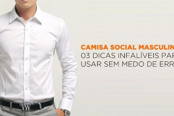 130a96d49 Camisa Social Masculina: 03 dicas infalíveis para usar sem medo de errar    Alberto Solon   CLOUDSTYLE